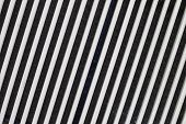 pic of louvers  - White plastic Ventilation Louver Close up of air condition - JPG