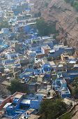 Aerial View Of Jodhpur City