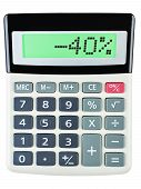 Calculator With -40
