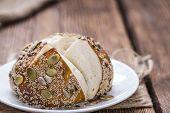 Pretzel Rolls With Mixed Seeds