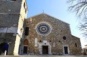 San Giusto Cathedral External Facade