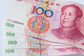 Chinese Currency Banknote  One Hundred Yuan