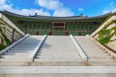 Traditional Architecture Old Building Palace In Korea