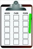 Clipboard Checklist