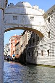 Bridge Of Sighs And The Prisons Of Venice