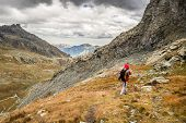 Hiking In The Italian Alps