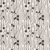Seamless vector pattern of lines with grungy blots