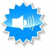 Sound blue icon