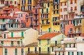 Colourful exteriors in Cinque terre.
