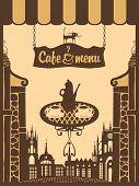 Menu for city cafe