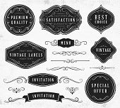 Vintage Ornaments and Labels