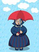 Lady Under The Rain