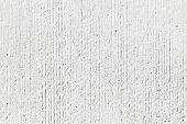 Rough White Concrete Wall Background Texture