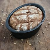 Постер, плакат: Homemade Sourdough Rye Bread