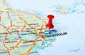 Stockholm ,sweden Map