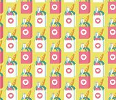 grocery bags pattern
