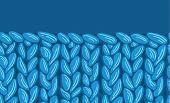 Knit sewater fabric horizontal seamless pattern texture