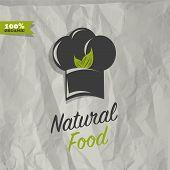 Natural food restaurant design