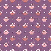 rice balls onigiri pattern