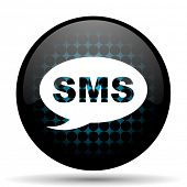 stock photo of sms  - sms icon message sign - JPG