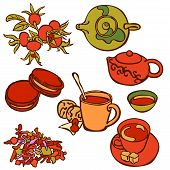 picture of tea party  - Tea ceremony - JPG