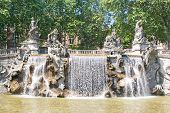 pic of turin  - Fountain of the Twelve Months in Turin Italy - JPG