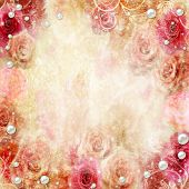 Abstract Roses Background
