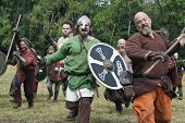 Attacking Vikings At Moesgaard