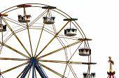 Ferris Wheel In Amusement Park