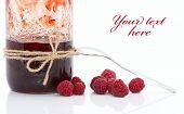 Jam With Raspberries