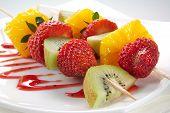Fruit Allsorts On Skewers