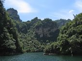 Lac In The Mountains And The Jungle, Quingyanshan National Park, China