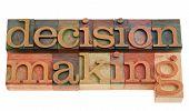 Decision Making In Letterpress Type