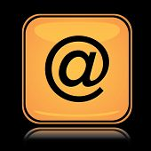 Yellow square icon internet access