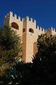 Castillo español en Velez Blanco, provincia de Almería