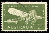 Sello de correos australiano