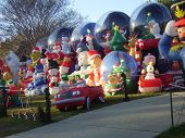 Front Yard Christmas Excess