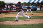 Binghamton Mets pitcher Brandon Moore