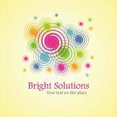 Bright solution (background from spirals)