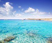 Cala Conta in Ibiza island near San Antonio de Portmany