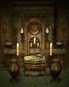 El Altar misterioso