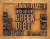 words related to Greece financial crisis