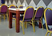 Interior Of Ususal Pakistani Restaurant