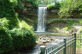 Waterfall At Mennehaha