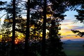 Sunset On Kamiak Butte