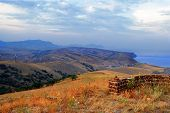 Crimea. Sudak. View From Mount Kokush-kai