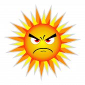 pic of heatwave  - Evil summer sun - JPG