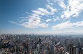 Aerial View Of Sao Paulo.