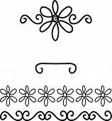 Scrapbooking Flower Doodles