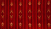Romanian Folk Seamless Pattern Ornaments. Romanian Traditional Embroidery. Ethnic Texture Design. Tr poster